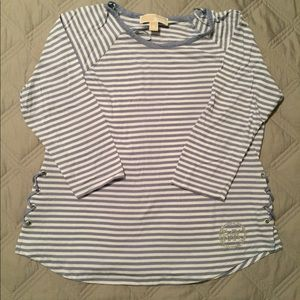 Michaels Kors 3/4 sleeve top size medium